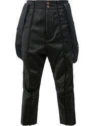 Song For The Mute L'eclaireur X Cropped Trousers Black