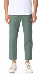 Obey Straggler Flooded Pants Worker Green