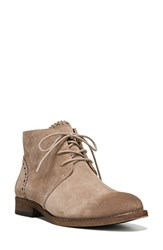 Franco Sarto Women's 'Heathrow' Lace Up Bootie Mushroom Suede