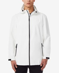 32 Degrees Storm Tech Full Zip Hooded Rain Jacket Ice