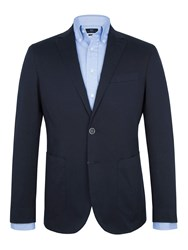 Paul Costelloe Navy Cotton Jacket Dark Navy