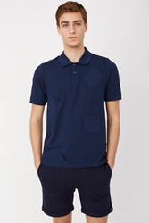 Band Of Outsiders Flying Pocket Polo Navy