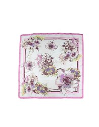 Anna Rachele Square Scarves Pink