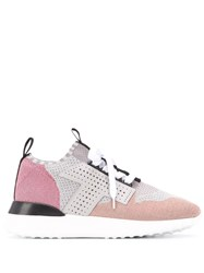Tod's Knit Patchwork Low Top Trainers 60