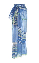 Lemlem Safia Long Wrap Sarong Stripe