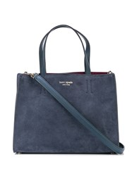 Kate Spade Sam Medium Satchel Blue