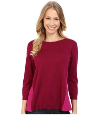 Smartwool Palisade Trail Crew Berry Heather Women's Sweater Pink