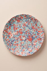 Anthropologie Metascape Dinner Plate Dark Turquoise