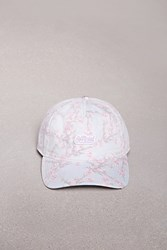Forever 21 Official Floral Logo Patch Cap Pink