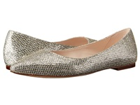 Cole Haan Tartine Skimmer Gold Silver Glitter Women's Dress Flat Shoes