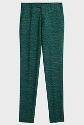 Missoni Cotton Blend Trousers Green
