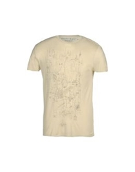 Generation Pacifique Short Sleeve T Shirts Ivory