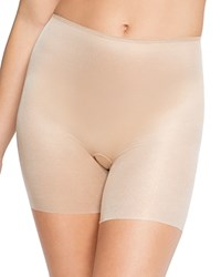 Spanx Skinny Britches Girl Shorts 10007R Gold Sparkle