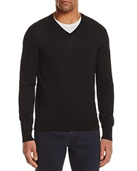 Bloomingdale's The Men's Store At Cotton V Neck Sweater 100 Exclusive Black