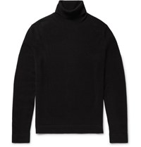 Theory Donners Cashmere Rollneck Sweater Black