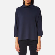 Samsoe And Samsoe Women's Wynne T Neck Top Dark Sapphire Blue