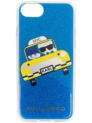 Karl Lagerfeld Nyc Taxi Iphone 7 Case Thermoplastic Polyurethane Tpu White
