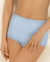 Vanity Fair Perfectly Yours Ravissant Nylon Brief 15712 Soft Blue