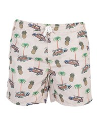 Roy Rogers Roger's Swim Trunks Beige