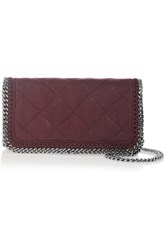 Stella Mccartney The Falabella Faux Brushed Leather Shoulder Bag