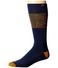 Wigwam Broken Arrow Pro Navy Men's Crew Cut Socks Shoes