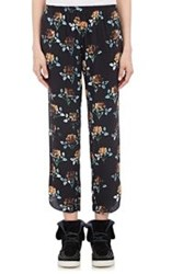 Thakoon Addition Relaxed Crop Pants Blue Size 8 Us
