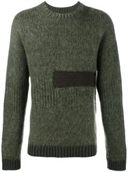 Helen Lawrence Chunky Ribbed Jumper Green