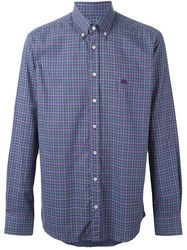 Etro Plaid Shirt Pink And Purple