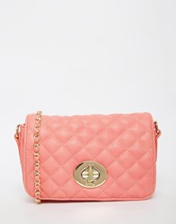 Marc B Liberty Quilted Shoulder Bag Pink