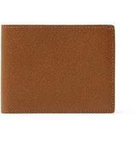 Common Projects Article Cross Grain Leather Billfold Wallet Brown