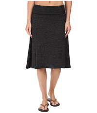 Carve Designs Saxon Skirt Charcoal Heather Women's Skirt Gray