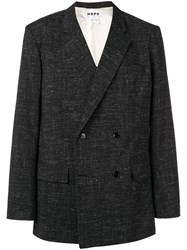 Hope Double Breasted Blazer Black