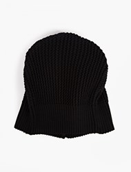 S.N.S. Herning Navy Cable Knit Real Beanie