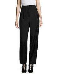 Aquilano Rimondi High Waist Pants Black