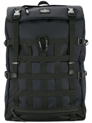 Makavelic Chase Meshwork Backpack Blue