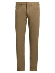 Polo Ralph Lauren Slim Fit Cotton Blend Chino Trousers Khaki