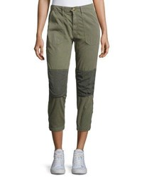 Mother Army Racketeer Jogger Pants Green