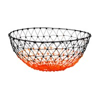 Pols Potten Basket Gradient Knot Orange