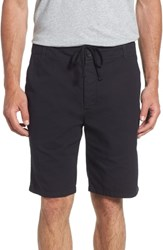 James Perse Relaxed Fit Utility Shorts French Navy
