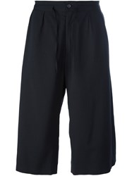 Ports 1961 'Gabardine' Short Trousers Black