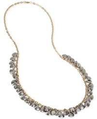 Inc International Concepts M. Haskell For Inc Two Tone Shell Design Shaky Long Length Necklace Only At Macy's