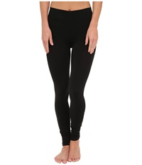 Three Dots Seamless Jersey Leggings Black Women's Clothing