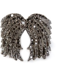 Elise Dray Wings Ring Metallic