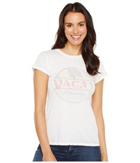 Project Social T Vacay Forever Tee Burnout White Women's Shirt