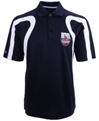 Antigua Short Sleeve Louisville Cardinals Polo Black White