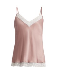 Morpho Luna Suni Washed Silk Cami Top Pink