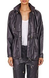 Isabel Marant Leather Brenden Jacket Blue