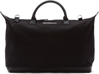 Want Les Essentiels Black Canvas Hartsfield Weekender Tote Bag
