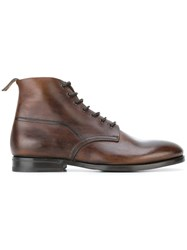 Measponte Lace Up Boots Brown