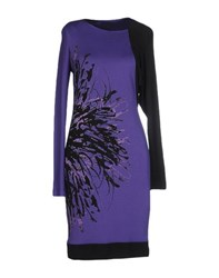 Mariella Rosati Dresses Short Dresses Women Purple